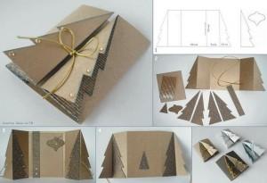 Vianočný pozdrav - stromček