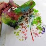 malovanie listami